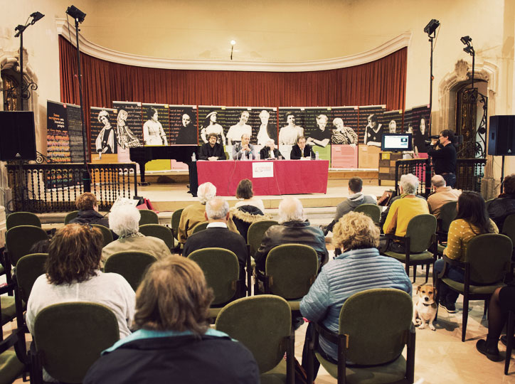 Acte d'inauguració Cervera, Vila del Llibre 2016