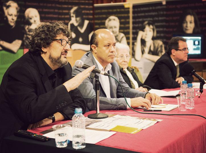 Enric Bono, Ramon Royes, Rosa Fabregat i Jaume Rossich