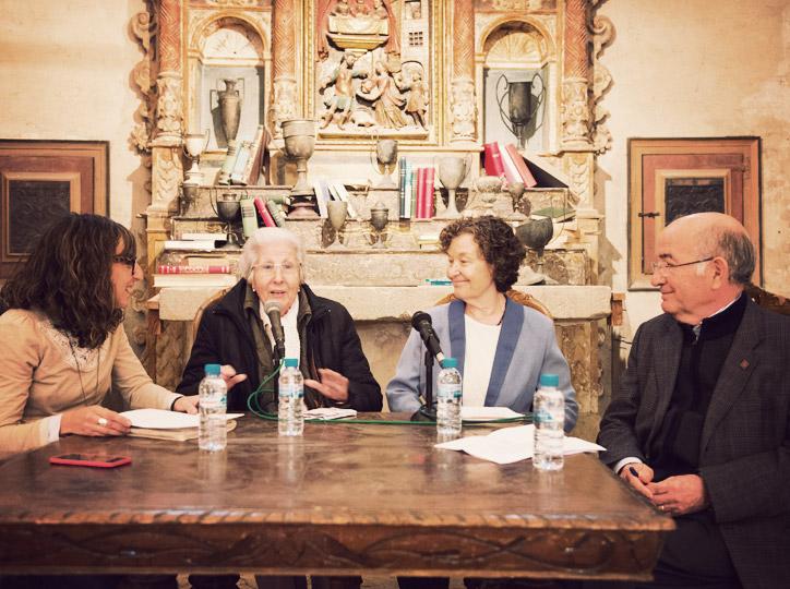 LLuís Pagès conversa amb Rosa Fabregat i Maria Barbal