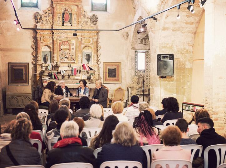 Conversa sobre la influencia de les terres de ponent a la literatura catalana