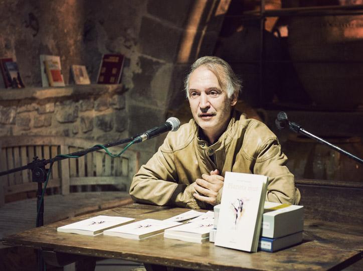 """Jordi Solé, autor de """"Planeta Mut"""""""