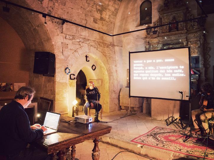 Jam d'escriptura a la Capella Sant Joan