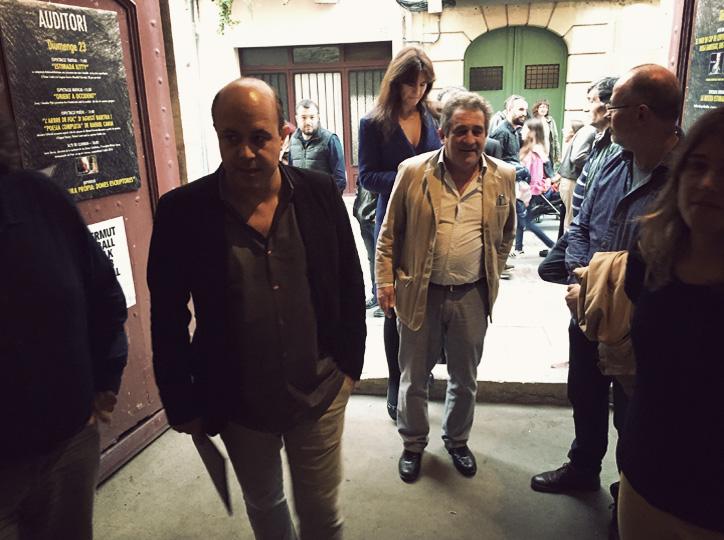 El Paer en Cap de Cervera i l'Alcalde de Montblanc