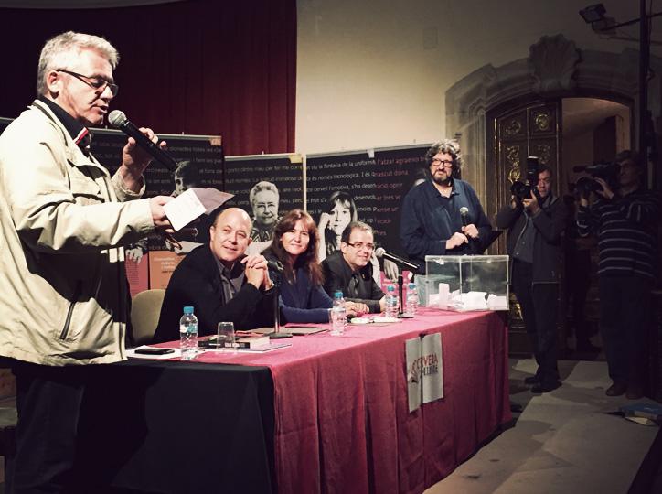Màrius Serra a la cloenda de Cervera, Vila del Llibre 2016