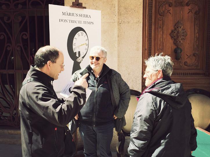 Màrius Serra amb els seus lectors
