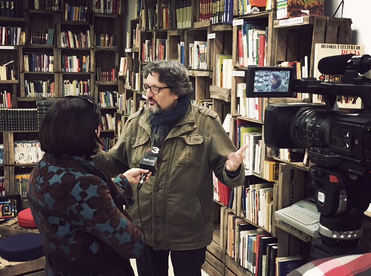 Enric Bono, director del festival, a TV3