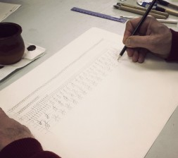 Cal·ligrafia amb Queralt Antú