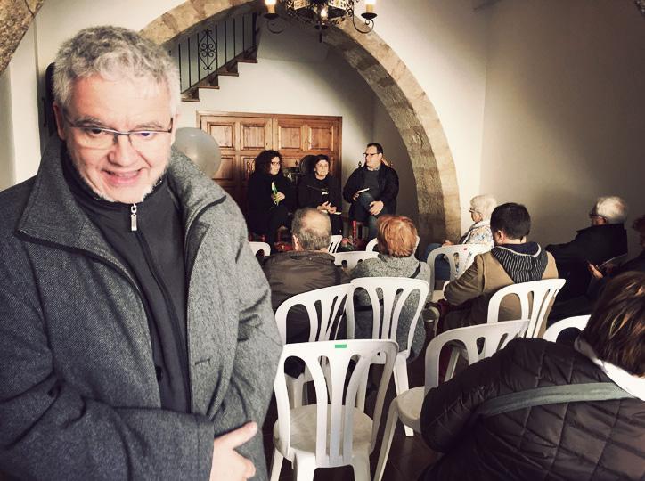 Màrius Serra a la presentació de Godall