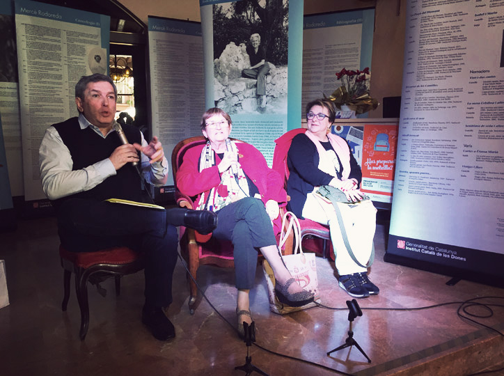 Josep Puigbó i la (S)àvia Dolors Bramon