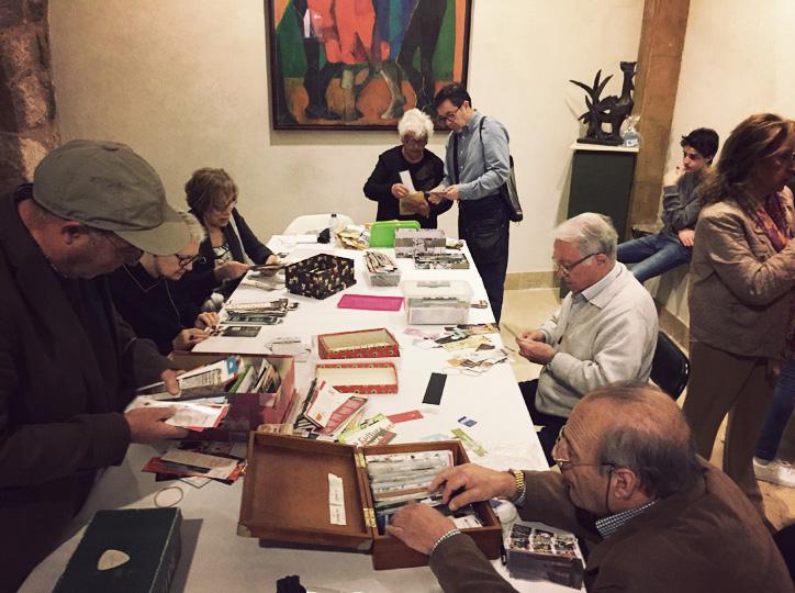 Trobada de punt de llibres al Museu Palau-Ferré