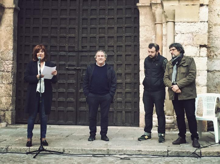 Coia Valls, Josep Andreu, Jordi Albalat i Enric Bono