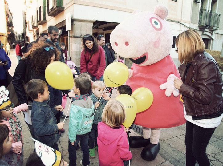 Peppa Pig arriba a la Vila