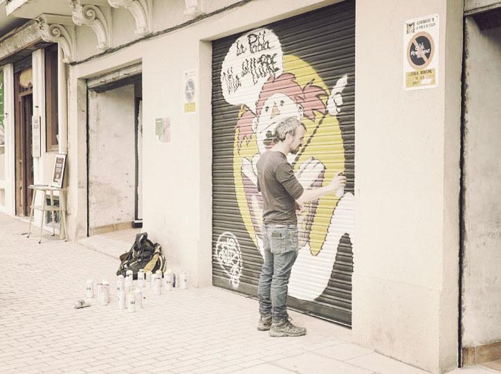 Grafitti a la Vila