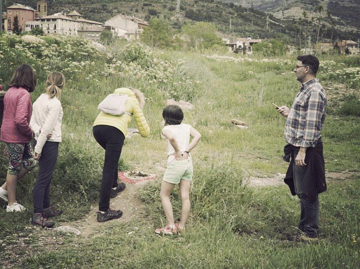 Taller de Land Art amb Els Cuscusians