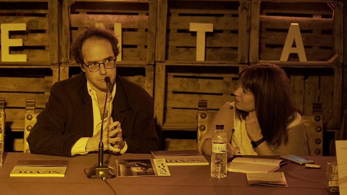 Bernat Puigtobella i Bea Talegón