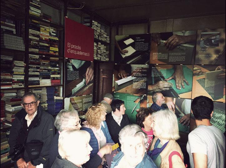 Exposició enquadernació Casa Daldo