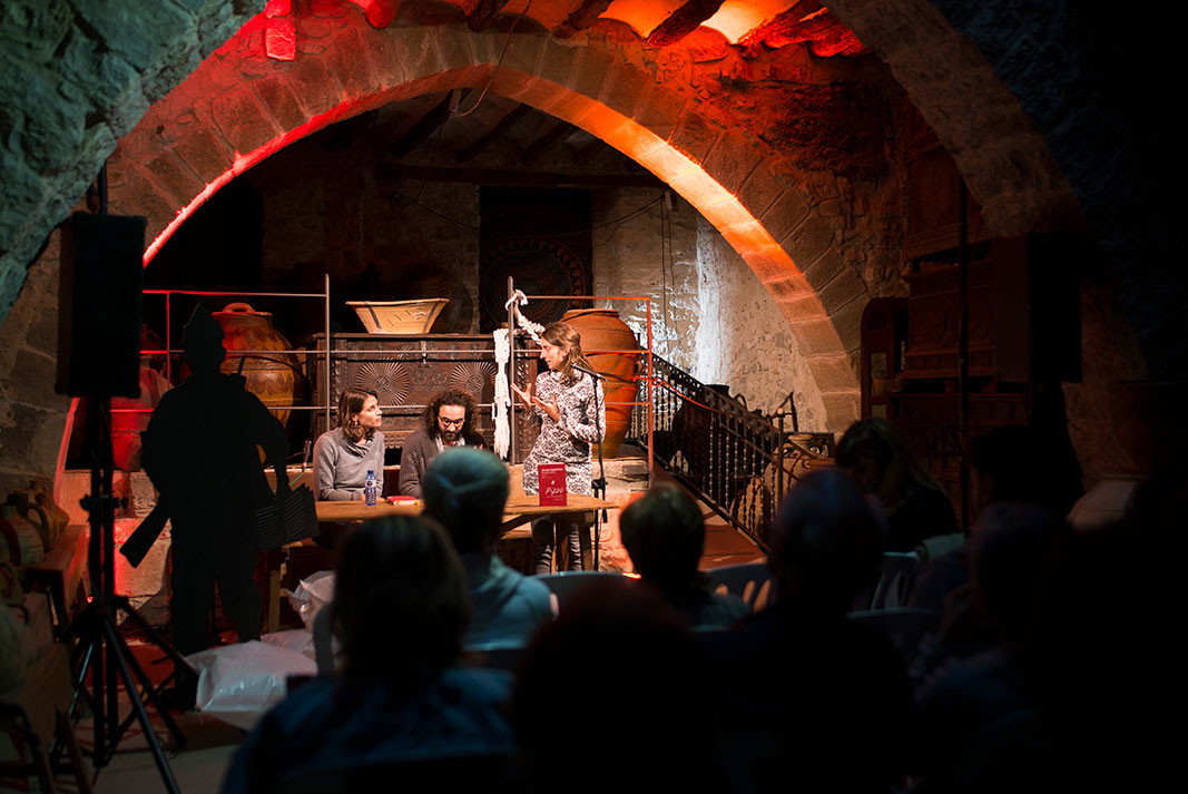 Recital poètic: Mohamed Bitari i Marina Lasaosa