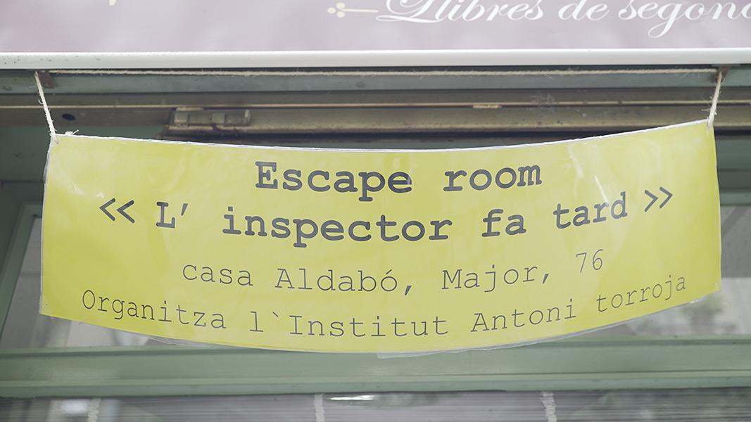 Escaperoom l'inspector fa tard