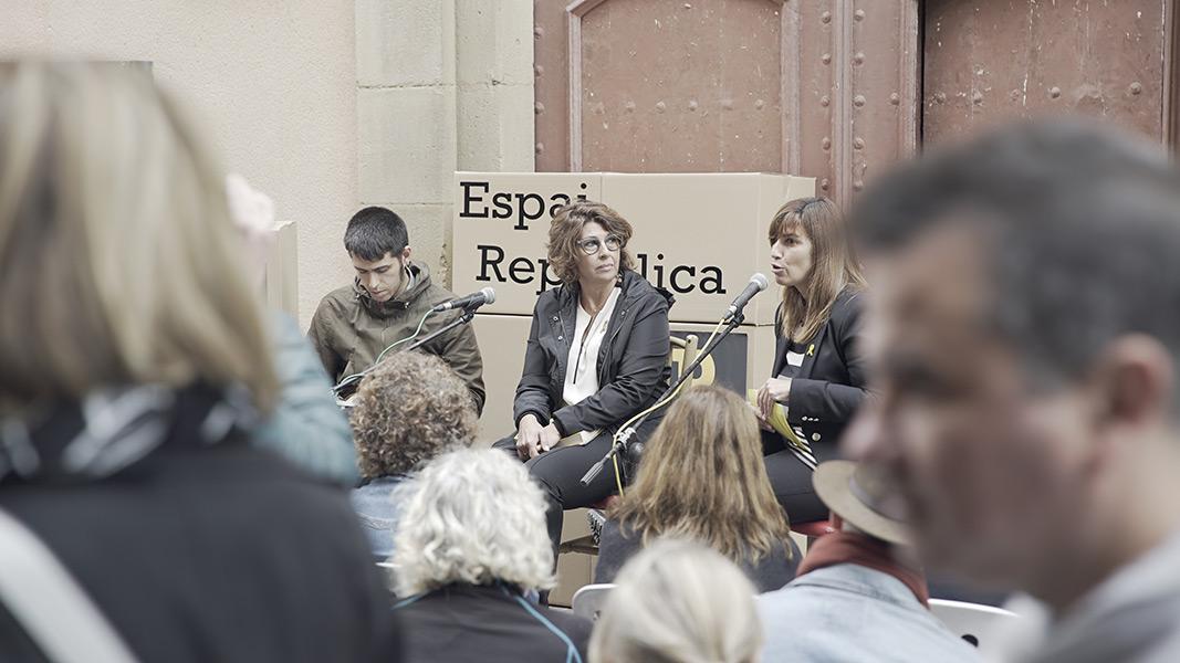 Jaume Barrull i Laura Masvidal a l'Espai República